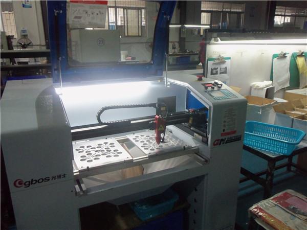 旭锦塑胶模具厂激光切割