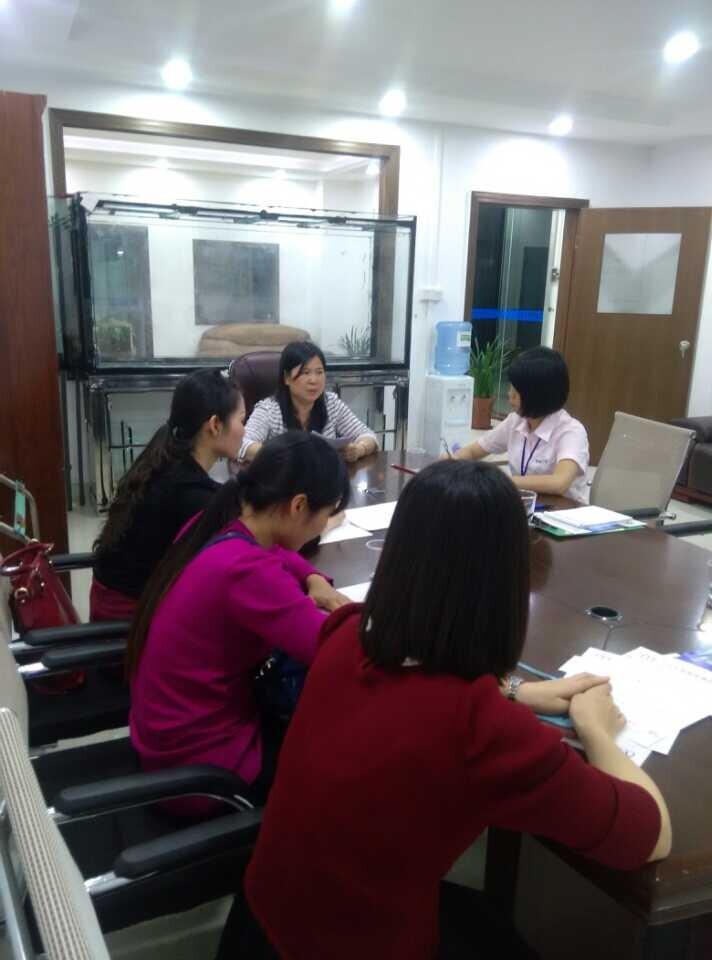 旭锦塑胶模具厂销售会议