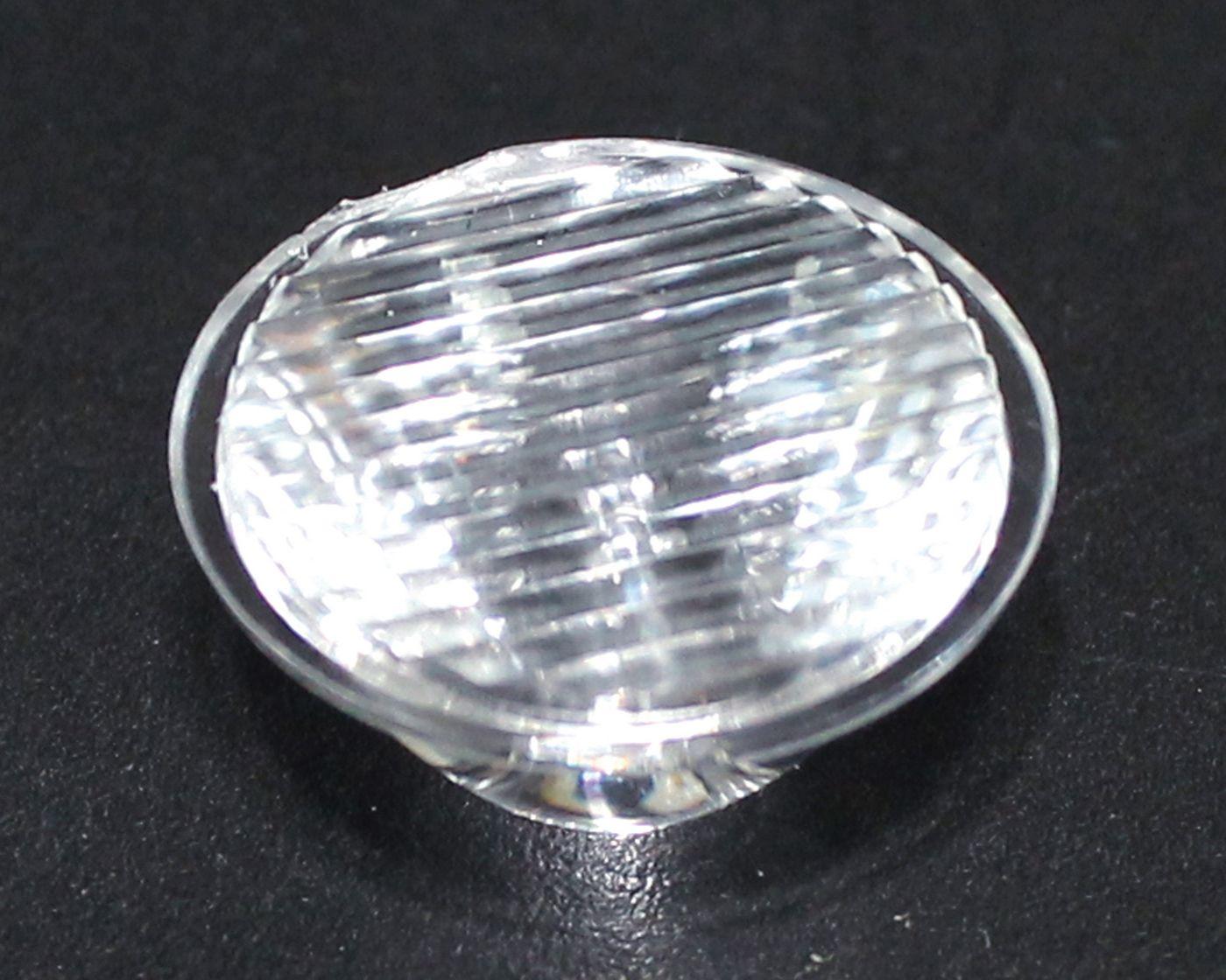 led透镜,大功率led透镜,20单粒条纹透镜,XJ20-30°条纹