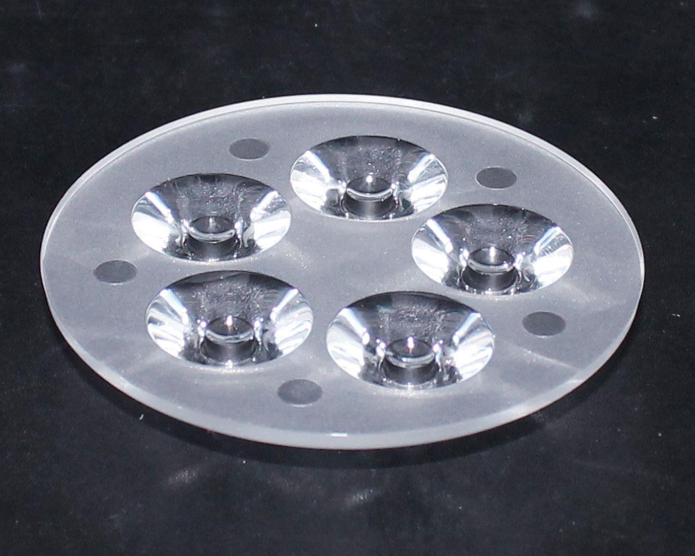 led透镜,大功率透镜,连体天花灯透镜,XJ-100-7*1带脚光