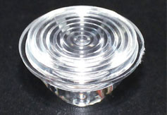 中山led透镜,单粒20mm透镜,XJ-20-30°螺纹透镜