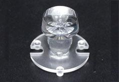 厂家直销led透镜,蜡烛灯透镜,XJ-草帽蜡烛灯(光面)