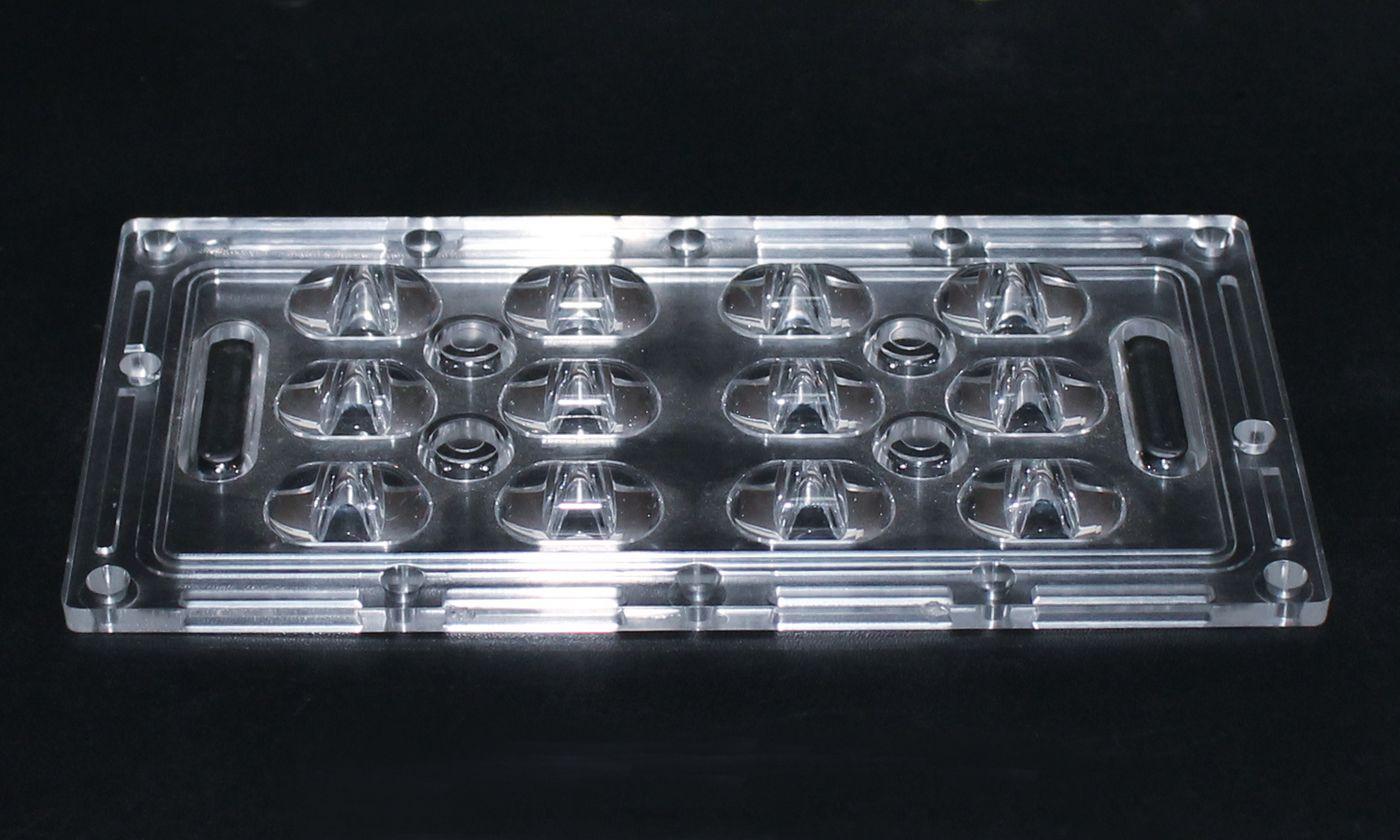led透镜(XJ-12W连体路灯透镜)