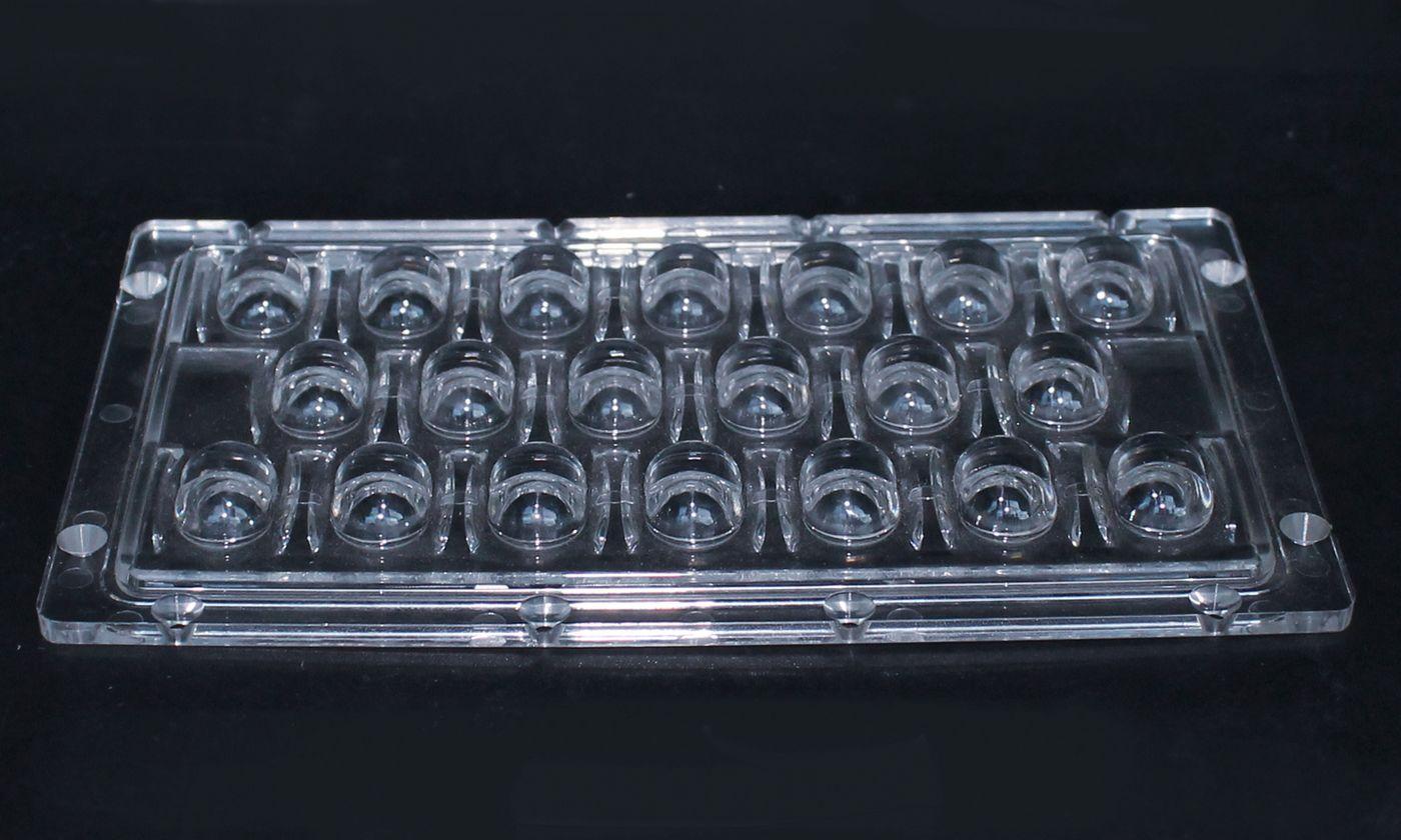 led透镜(XJ-20W连体路灯透镜)