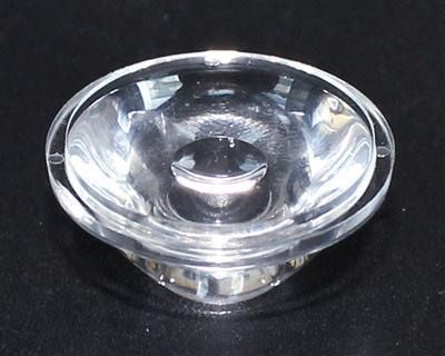 led透镜,大功率led透镜,光学透镜.22.5-30°光面透镜
