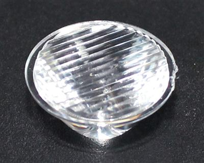 大功率led透镜,20单粒led透镜,XJ20-10°条纹