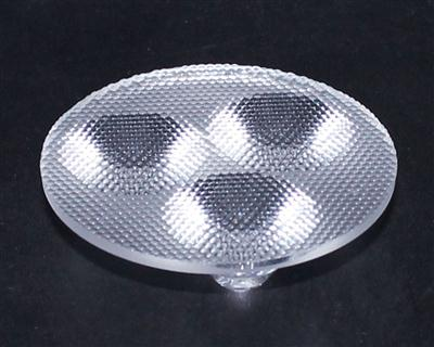 光学透镜,大功率led.连体天花灯透镜,XJ-50-3合1无脚珠