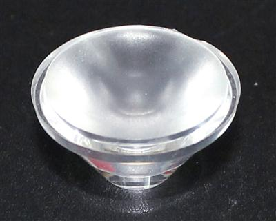 led透镜,大功率光学透镜,20单粒;XJ20-25°沙面
