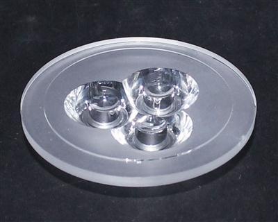 led透镜,光学透镜,LED透镜.XJ50.8-3合1光面