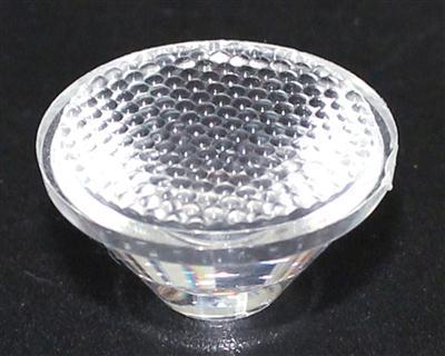 led单颗透镜,大功率透镜,20单粒,XJ20-60°珠面