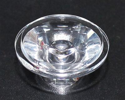 光面透镜,大功率led透镜,20单粒透镜,XJ20-30°光面