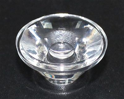 led透镜,大功率led透镜,20单粒洗墙灯透镜,XJ20-45°光面