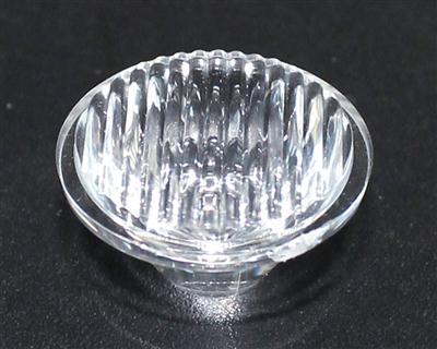 led透镜,大功率led透镜,20单粒条纹透镜批发,XJ20-30°条纹
