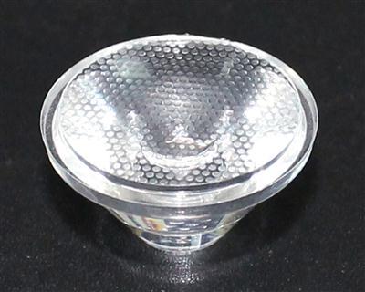 led透镜,大功率网纹透镜,20单粒透镜,XJ20-45°网纹