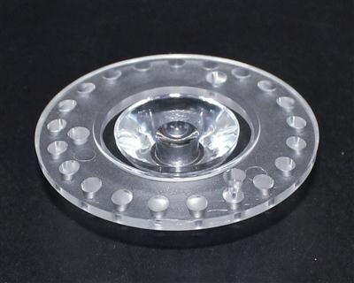 led透镜,大功率led透镜,43mm透镜,XJ43-1合1-30°光面