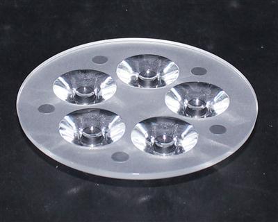 led透镜,大功率光学led透镜,天花灯透镜,XJ70-5合1光面