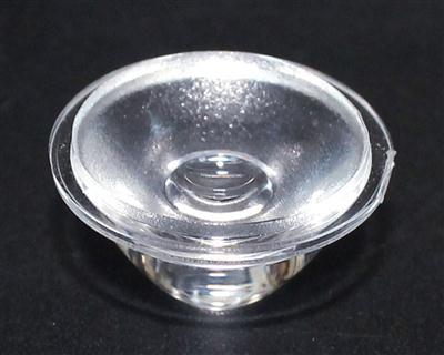led单颗透镜,大功率透镜,XJ20.5-30°凹沙面