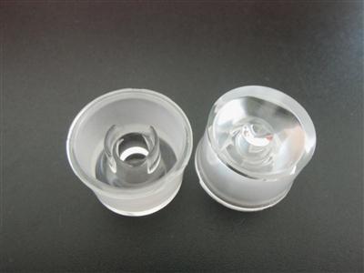 ,大功率led透镜,一体防水透镜LED,XJ-30°带支架光身光面