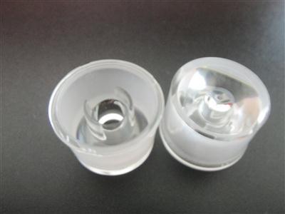 led透镜,大功率led透镜,单粒一体防水透镜XJ-60°带支架光身光面