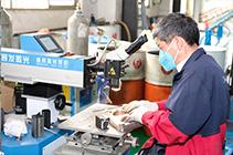 中山旭錦注塑模具-工模車間激光焊加工